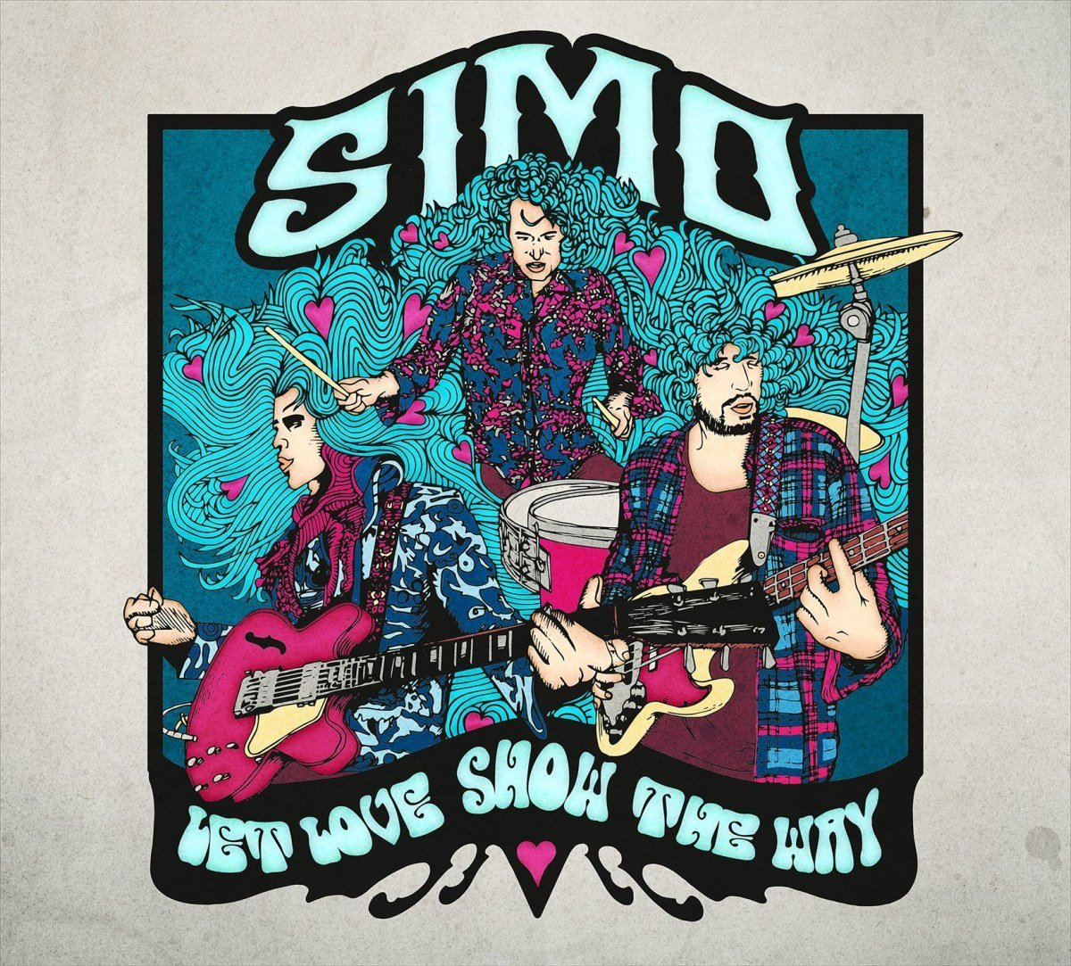 simo let love show the way cover